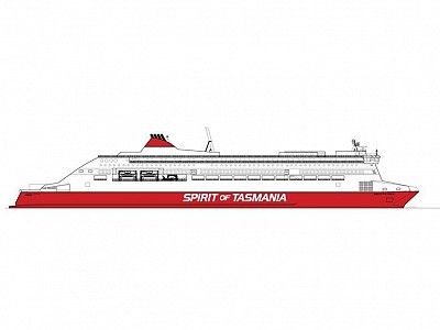Tasmania's TT-Line Picks New Builder for Ferry Pair