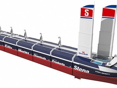 Stena Bulk unveils InfinityMax concept vessel design, challenging conventional thinking