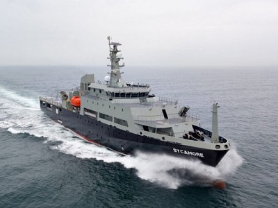 Damen successfully completed sea trials of Multi-role Aviation Training Vessel for RAN