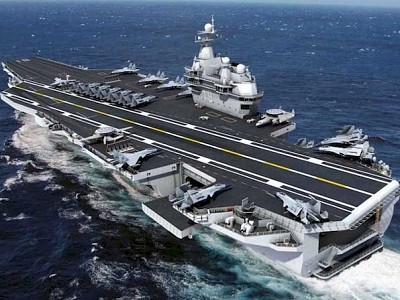 China steps up shipbuilding with two more aircraft carriers under construction towards 2035 navy goal