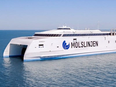 NEW 115 METRE HIGH SPEED CATAMARAN FOR MOLSLINJEN - LARGEST FERRY TO BE BUILT BY AUSTAL