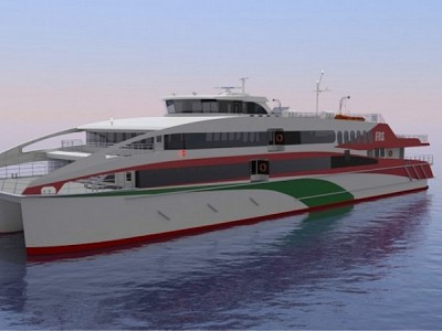 AUSTAL Wins 56 Metre Commercial Ferry Contract