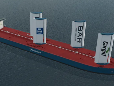 Yara to offer wind-assisted propulsion solutions