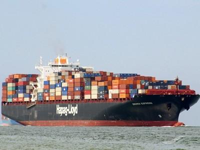 Hapag-Lloyd's boxship Bremen Express loses containers at sea