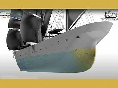 Cape Horn Engineering, EcoClipper team up on wind-powered cargo ship design