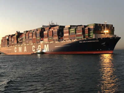 Summary of MAIB Investigation Report 2/2020 CMA CGM G. WASHINGTON
