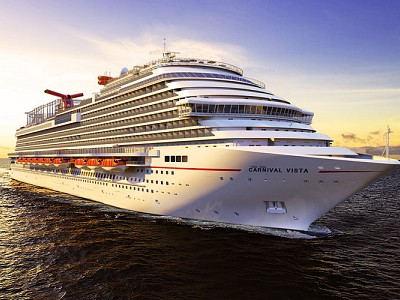 Over Two Dozen Carnival Crew Members Infected With COVID-19 on Carnival Vista