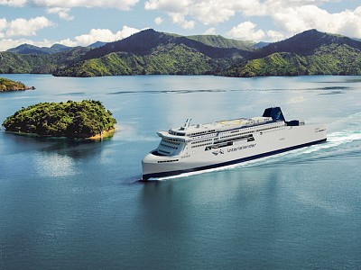 Next step for new generation Interislander ferries