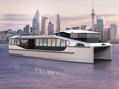 NZ companies collaborate on electric commuter ferry for global market