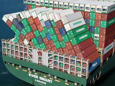 MAIB investigation report 14/2020 - Ever Smart container stow collapse