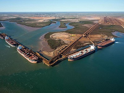 Fortescue celebrates its first Very Large Ore Carrier with official naming ceremony in China