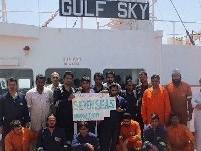 Crew of Gulf Sky remains unpaid