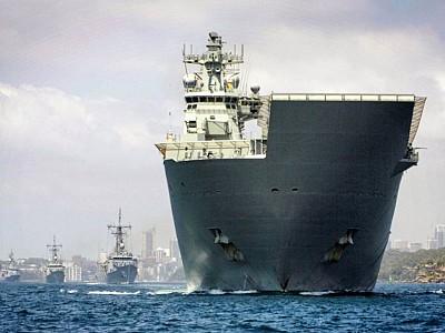 RAN Task Group sails to Bass Strait