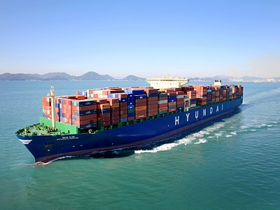 World's Largest Containership to Start Sailing at the End of April