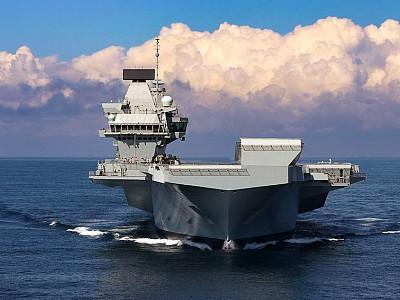 Britain's HMS Queen Elizabeth aircraft carrier will lead a flotilla of Royal Navyships through Asian waters