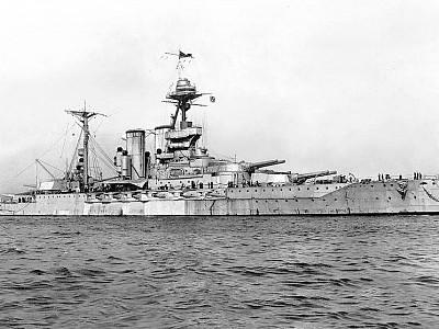 HMS Malaya at Jutland