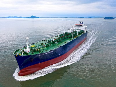Hyundai shipyard completes construction of world's largest LPG carrier