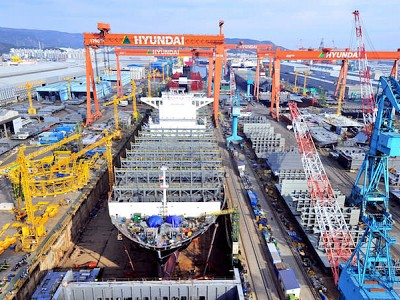 Korea's Mega-Merger of Shipyards Set to Dominate Global Shipbuilding