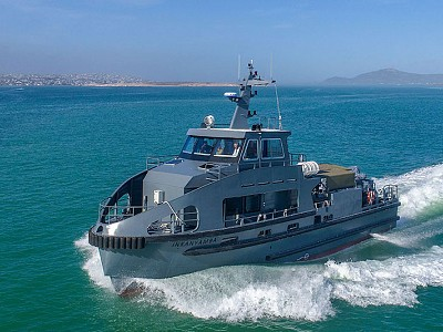 New workboat design by Incat Crowther for South Africa