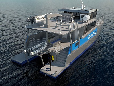 Incat Crowther 17 Holistic Solution for Marine Parks Patrol Operation