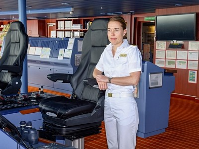 Germany Gets Its First Female Cruise Ship Captain