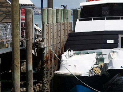 Fullers pays $130,000 after collision with Devonport wharf