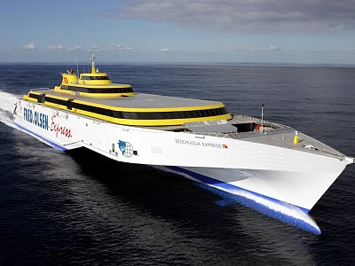A$190 MILLION CONTRACT FOR TWO 117 METRE TRIMARAN FERRIES