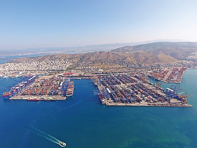 COSCO Solidifies Hold on the Port of Piraeus