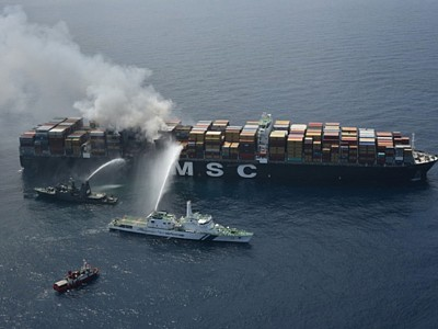 Misdeclaring of hazardous cargo might be root cause of fire on MSC Daniela