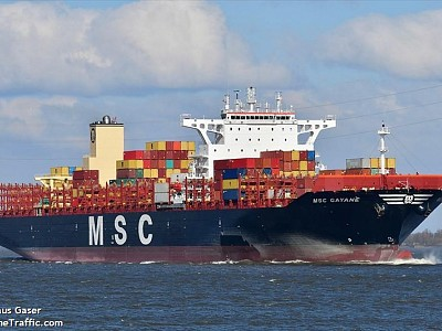 USD 1 Bn Worth of Cocaine Seized from MSC Ship in Philadelphia