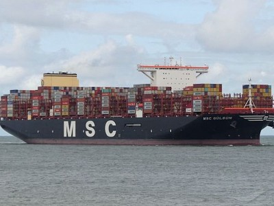 Shipping company on the list of EU's top 10 CO2 emitters