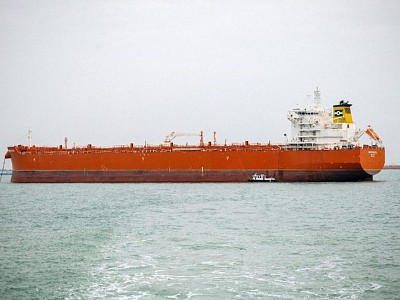 Important CLEANBU milestone - the MV Barracuda makes the first switch from dry cargo to jet fuel