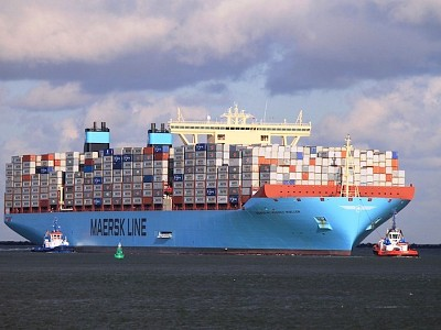 World's Biggest Container Liner Looks for Deals Outside Shipping