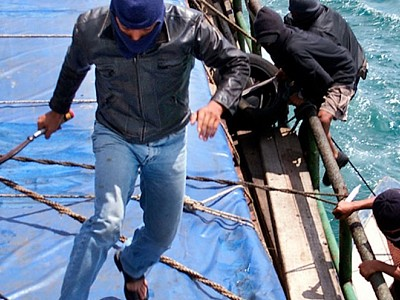 Maritime piracy on the rise in Asia