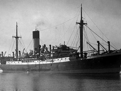 Tony Hopkins -  Merchant seaman who survived when his cargo ship Myrmidon was sunk by a U-boat torpedo