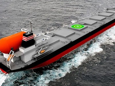 MOL, NYK Partner Up with Kyuden on World's 1st LNG-Fueled Large Coal Carriers