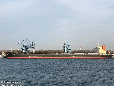 MOL and Japanese shipyards design next generation coal carrier