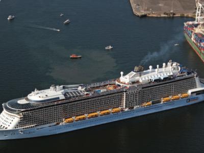 Record number of passengers through Fremantle Passenger Terminal
