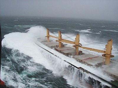 'Rough Seas' – A Natural Threat to Ship Safety