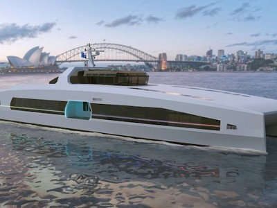 AUSTAL LAUNCHES VOLTA SERIES OF ELECTRIC-POWERED HIGH SPEED FERRIES