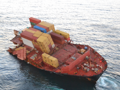 IUMI reports continued increase in frequency of major vessel casualties
