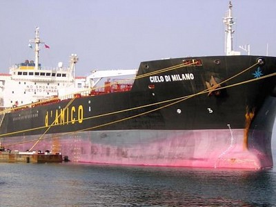 A 4 million dollars fine to D'Amico Shipping