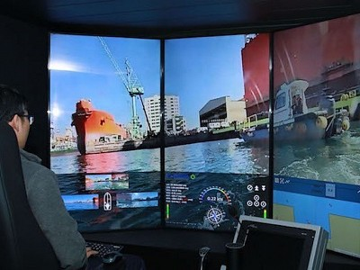 Samsung Heavy, SKT Ace 5G-Based Remote Control Ship Test``