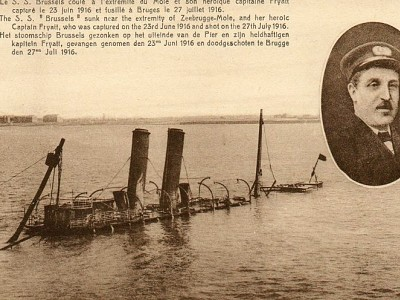 Captain Charles Fryatt, The Brave Ferry Captain Who Rammed German U-Boats in WW1