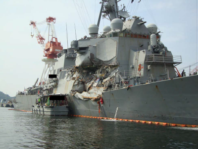 NTSB Issues Final Report on USS Fitzgerald Collision