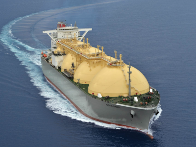 World's Largest MOSS Type LNG Carrier