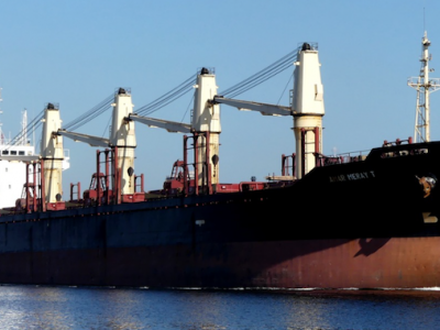 Bulker Detained in Philippines for Giving False Port Clearance Data