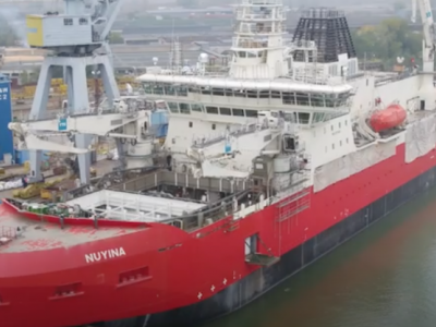 Sea trials of Australia's new icebreaking research and supply vessel Nuyina delayed by COVID-19