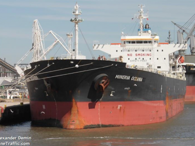 15 crew members of an oil tanker test positive for COVID-19, 2 hospitalized