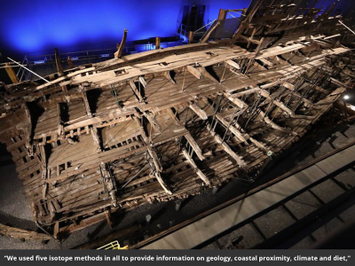Ethnically Diverse Crew of Henry VIII's Flagship Hailed From Iberia, North Africa